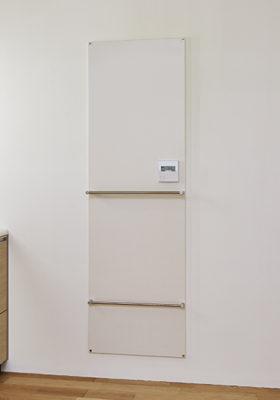 洗面室の「壁暖」Hotウォール~クリナップ沼津ショールーム~