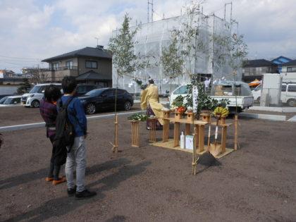 富士市M様邸地鎮祭